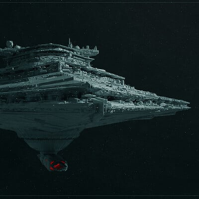 Sean hargreaves star destroyer front 1