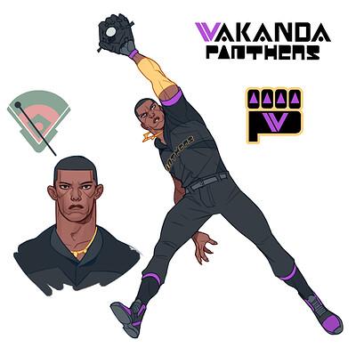 Cole marchetti avengers baseball panther v3