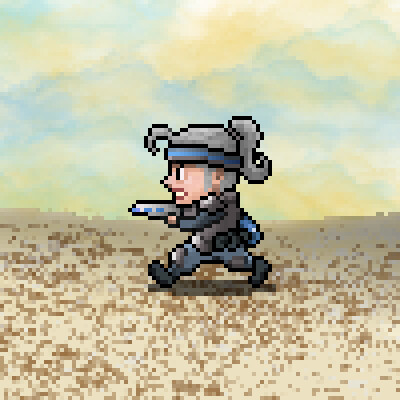 Infantry female soldier