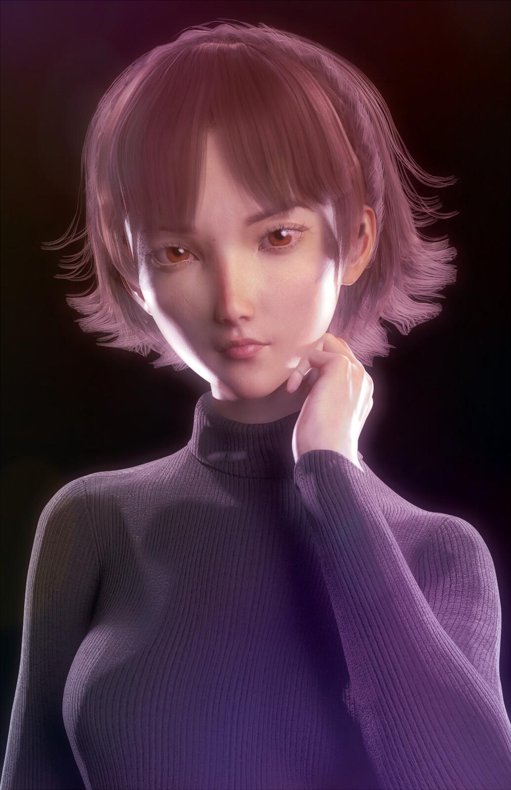Makoto Niijima (Persona 5 Fan Art)