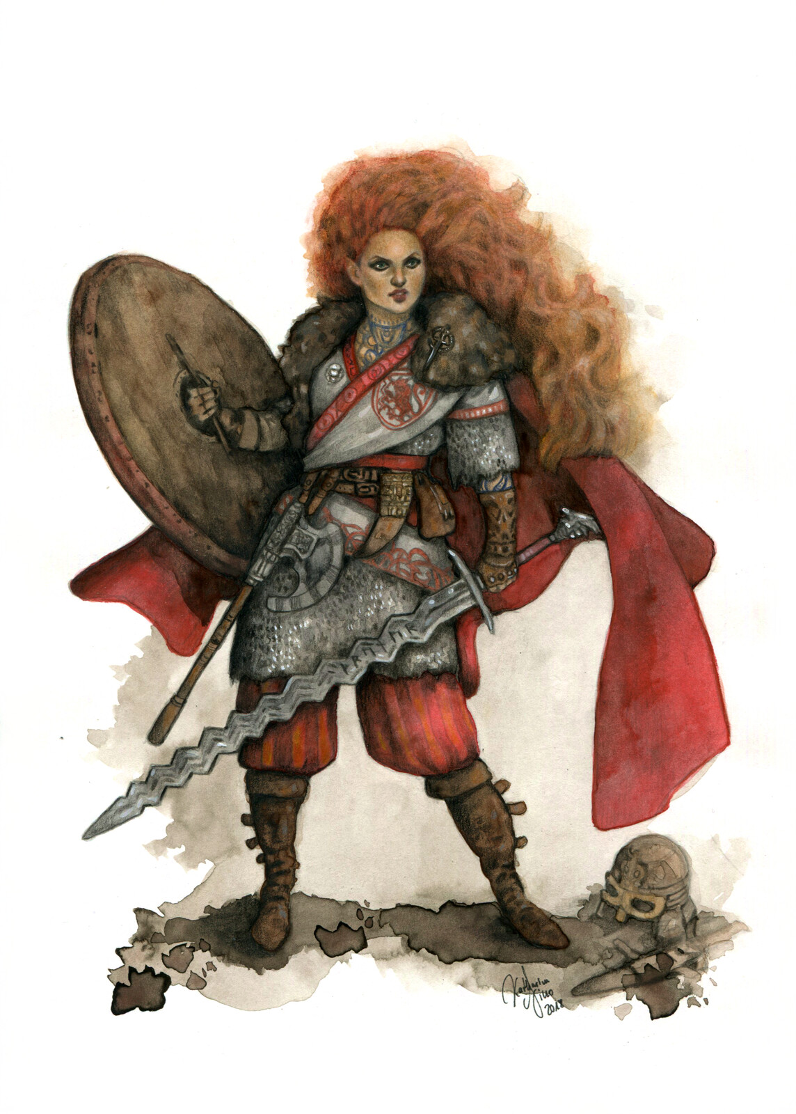 Warrior Priestress