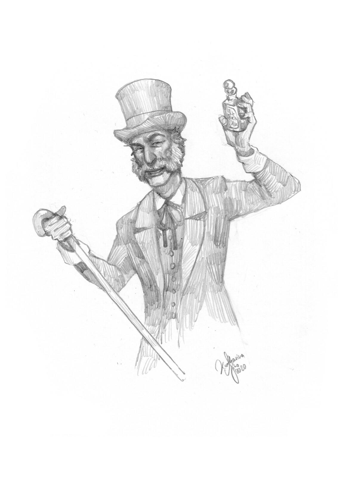 RPG character: Alchemist