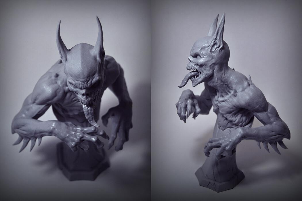 Actual Formlabs 3D Print