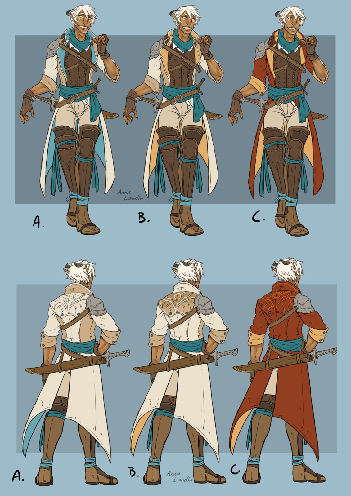 colour variants
