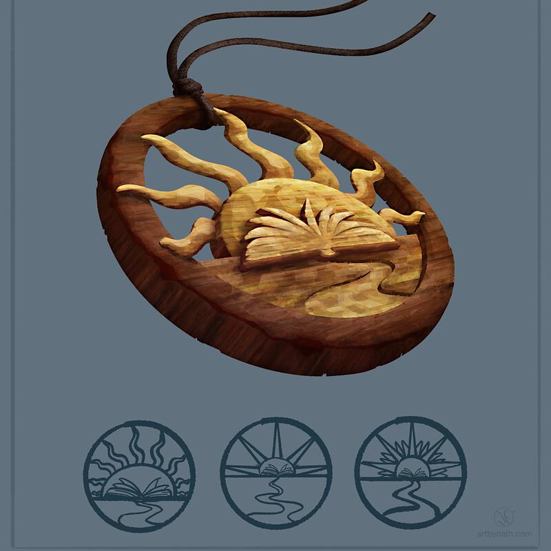 Amulet for 'Parvmanernes Hemmelighed'