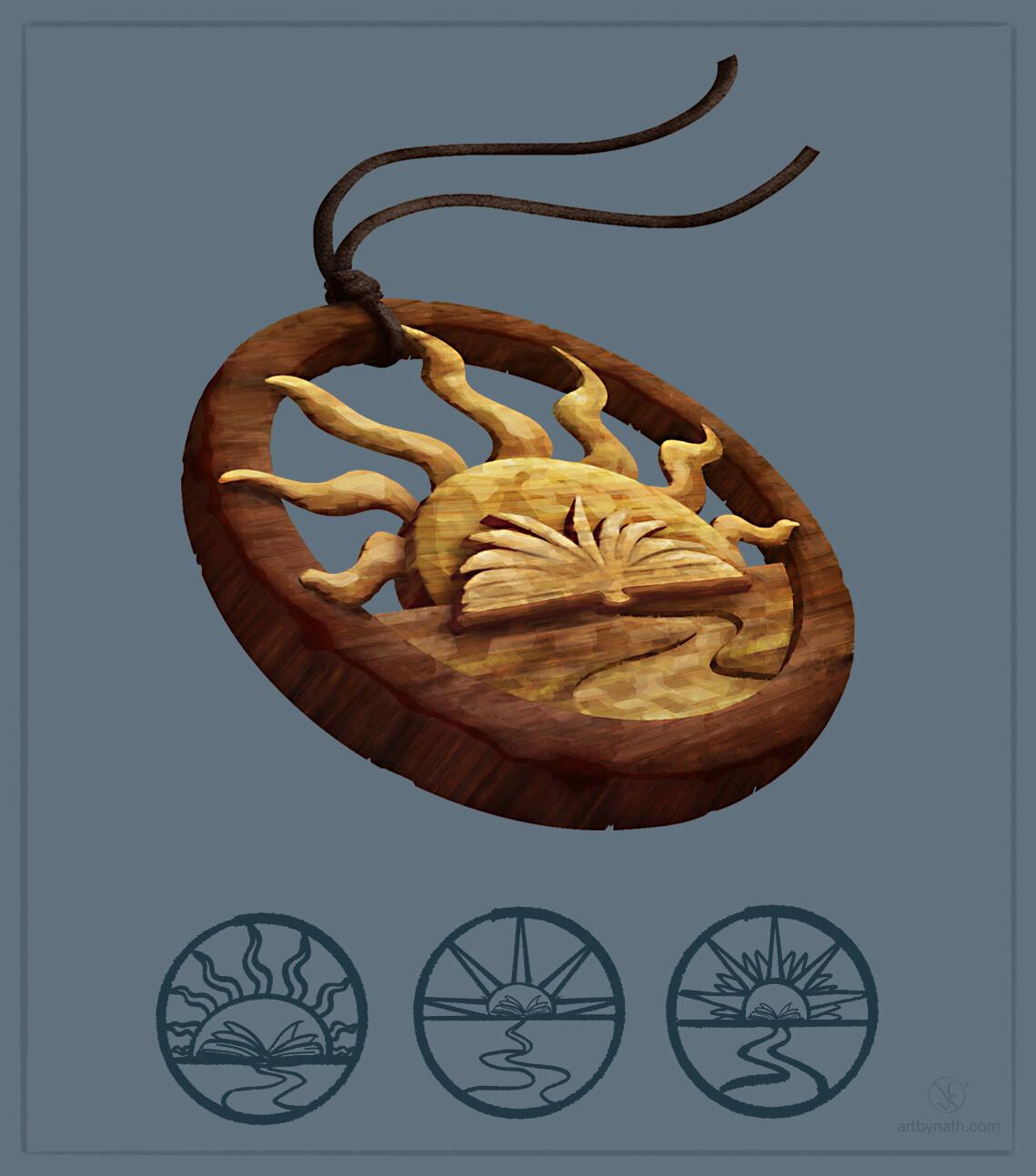 Amulet for Parvmanernes Hemmelighed