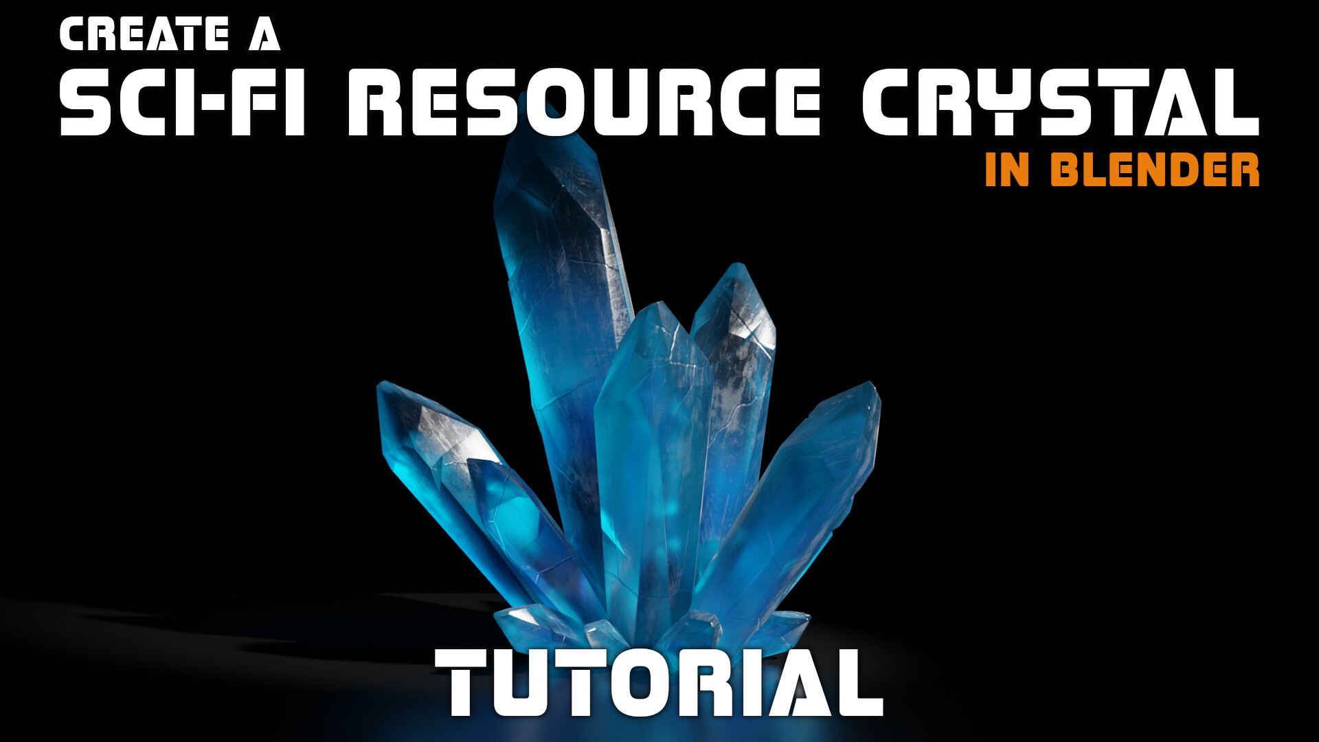 A tutorial on creating the crystals in this scene can be found her: https://artofkarlb.com/projects/gJZ5NE  The crystals are also available as 3D assets in my store https://artofkarlb.com/store/RvGd/sci-fi-fantasy-crystal