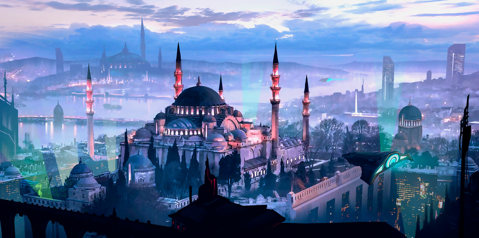 Futuristic Istanbul