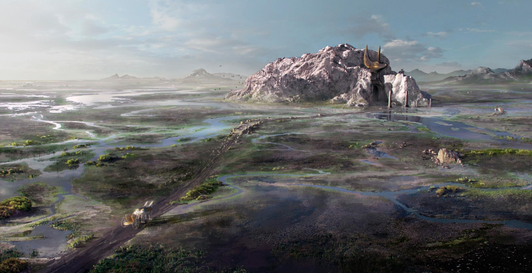 Tomb Of Anubis aerial - concept