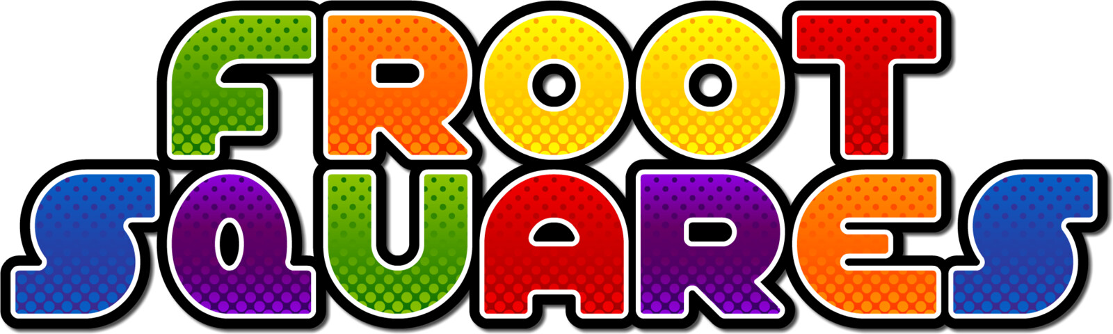 Froot Squares Logo 2 Line