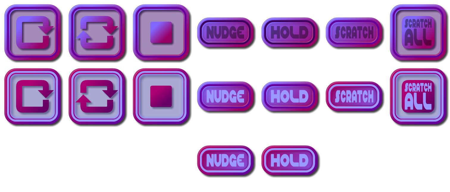 Button Spritesheet