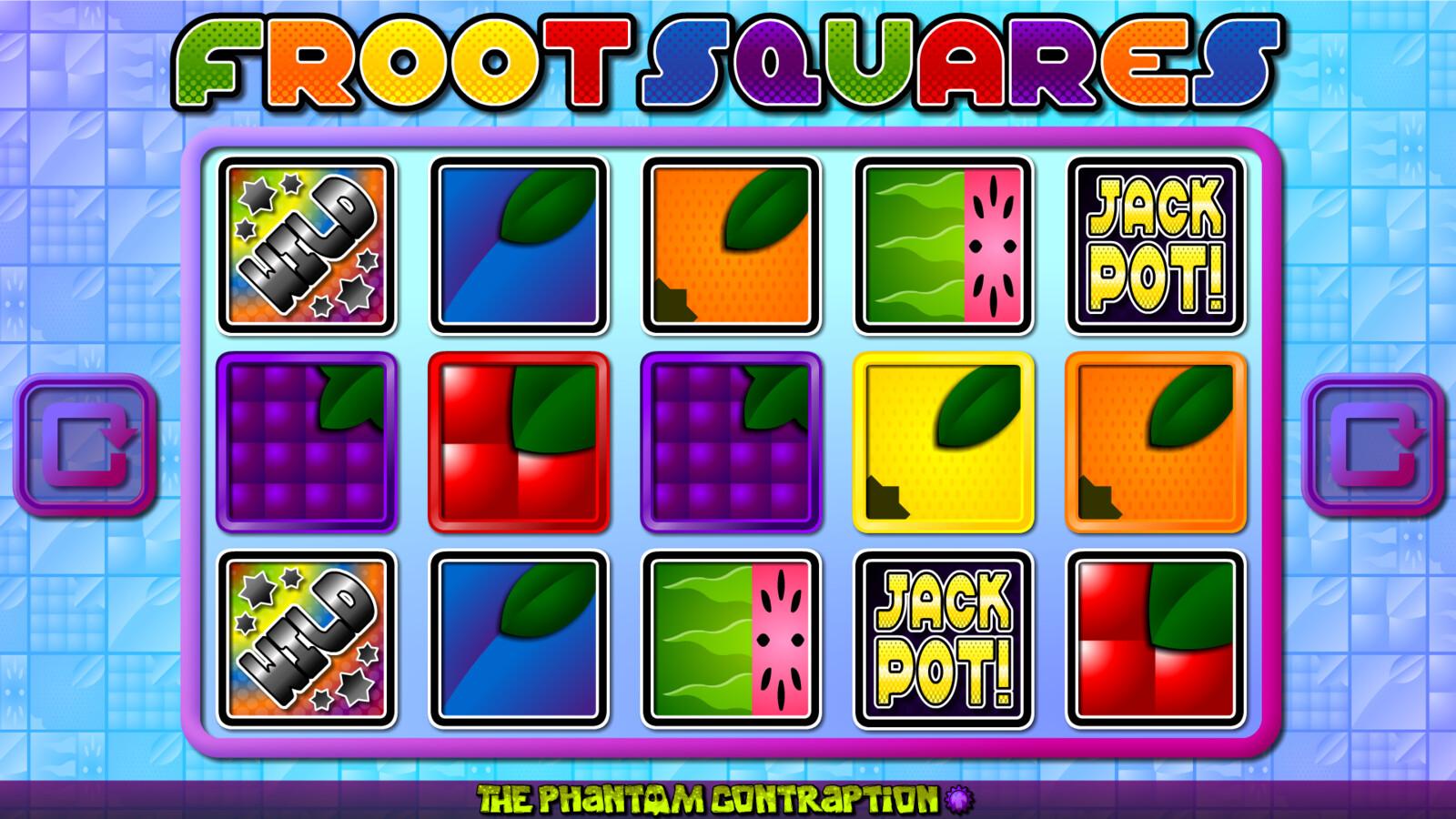 Froot Squares Landscape Screenshot: No Win
