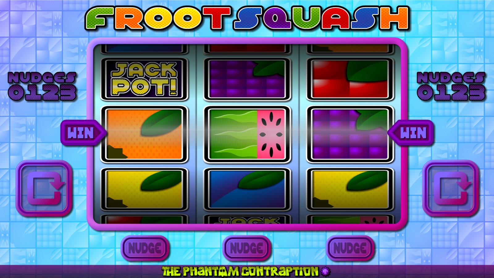 Froot Squash Landscape Screenshot: No Win