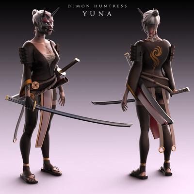 Nick yee demon huntress yuna 2k