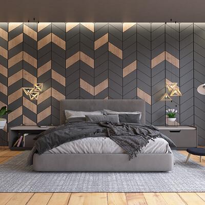 Fidel branche bedroom rgb color
