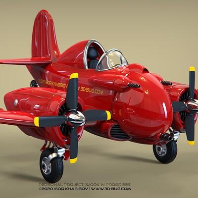 Igor khabibov airplane wip1