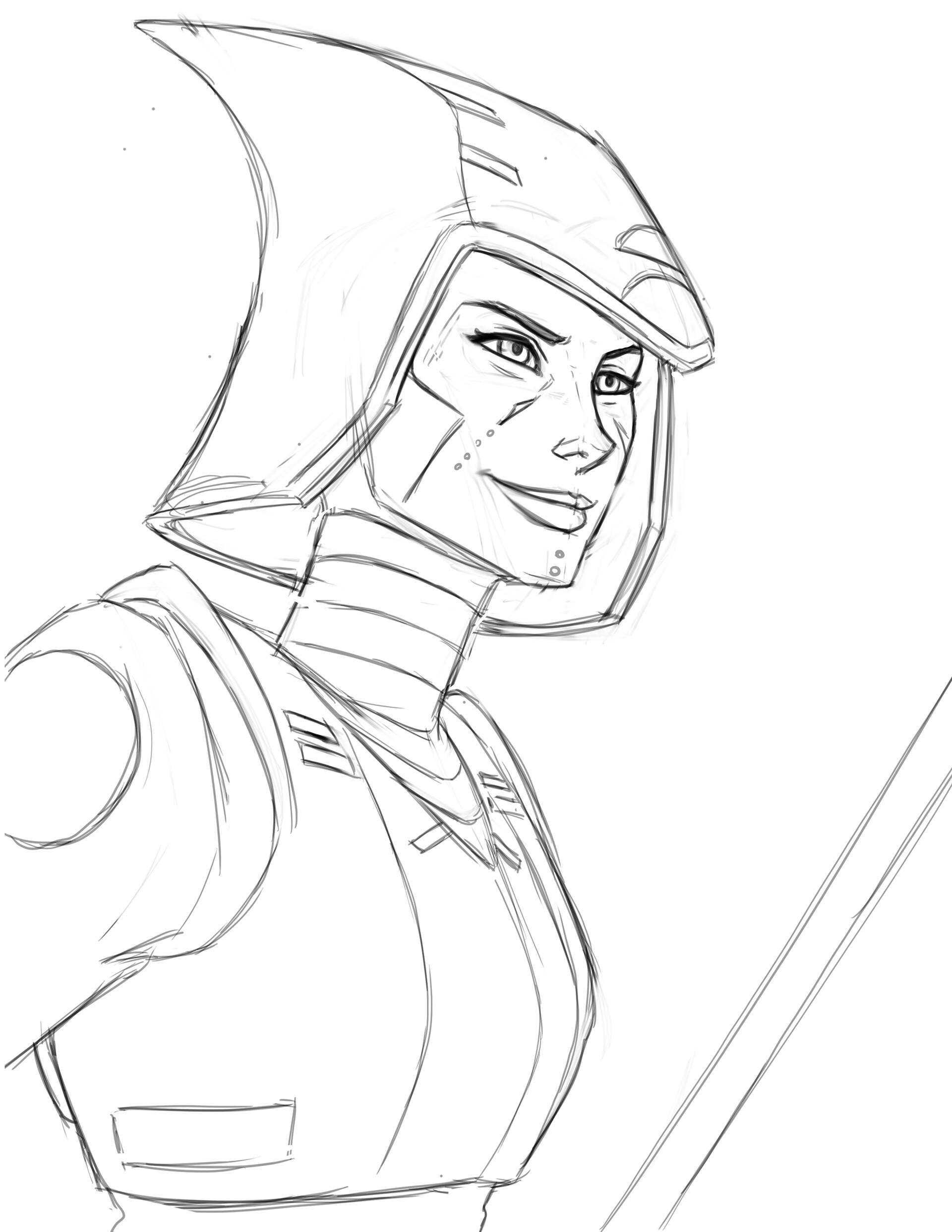 My initial Sketch