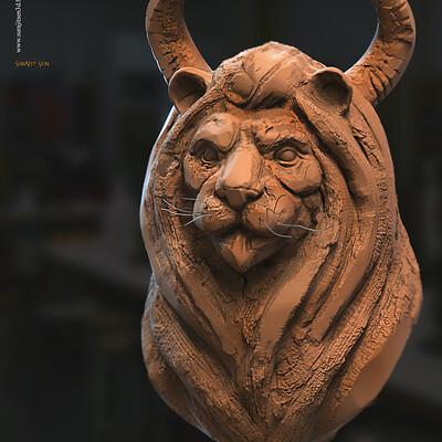 Surajit sen calygrey2 0 digital sculpture surajitsen june2020aa