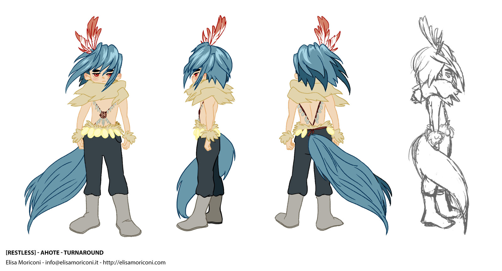[Restless] - Ahote character file 01