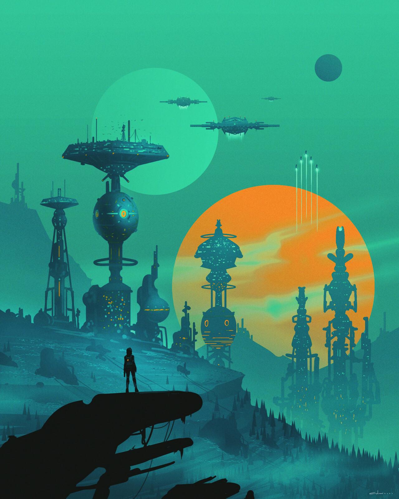 Scifi Environment - Planet X