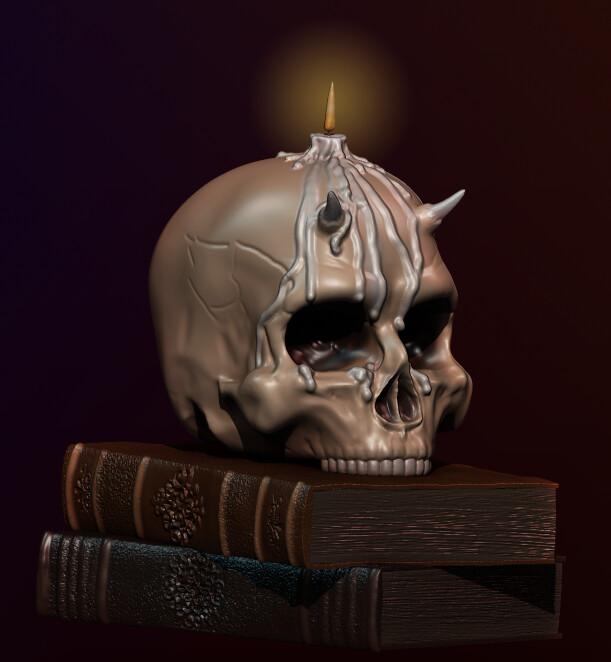 Render - Demon Skull