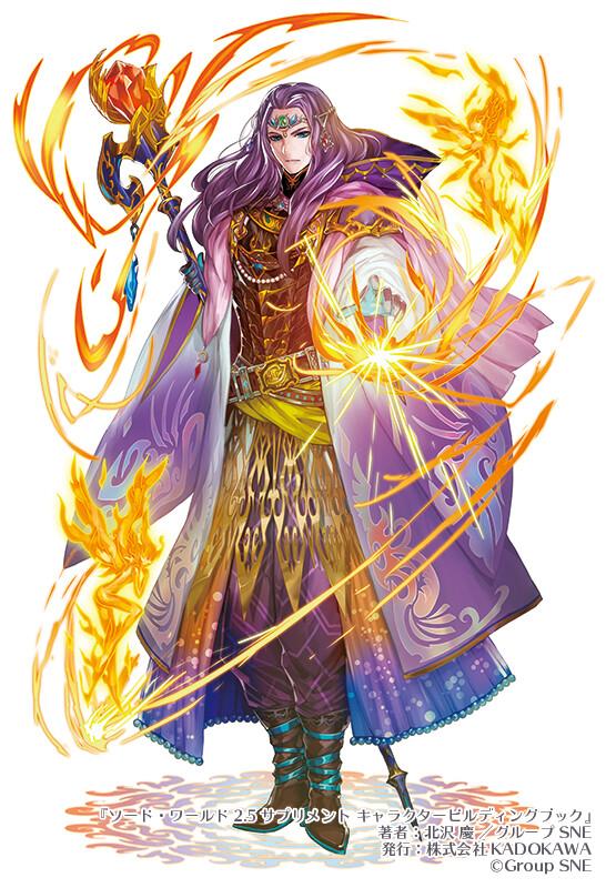 """Swordworld2.5 Character building book "" Image charactor illustration 1"