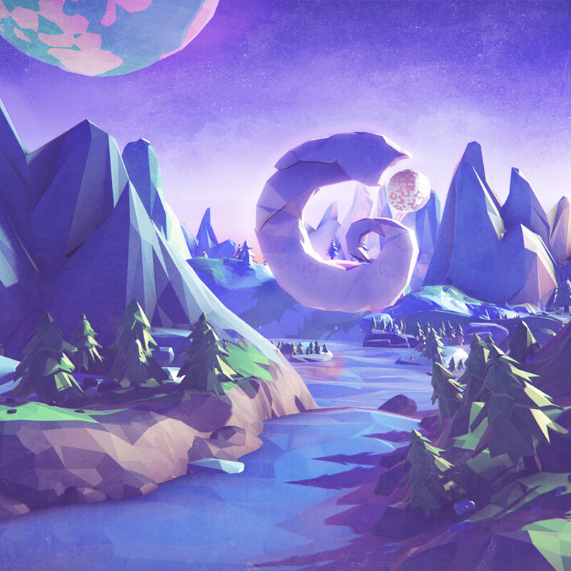 LOW POLY EXPLORATION