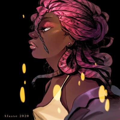 Alejandra alasxe galadi leiva pink