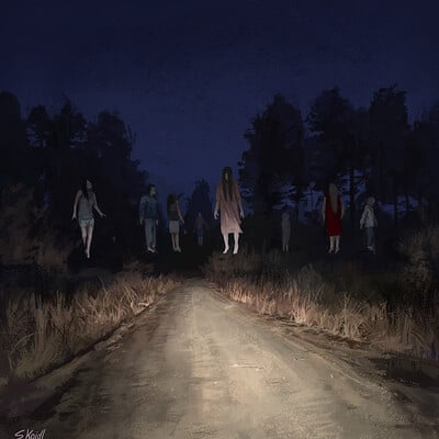 Stefan koidl creepy painting 35