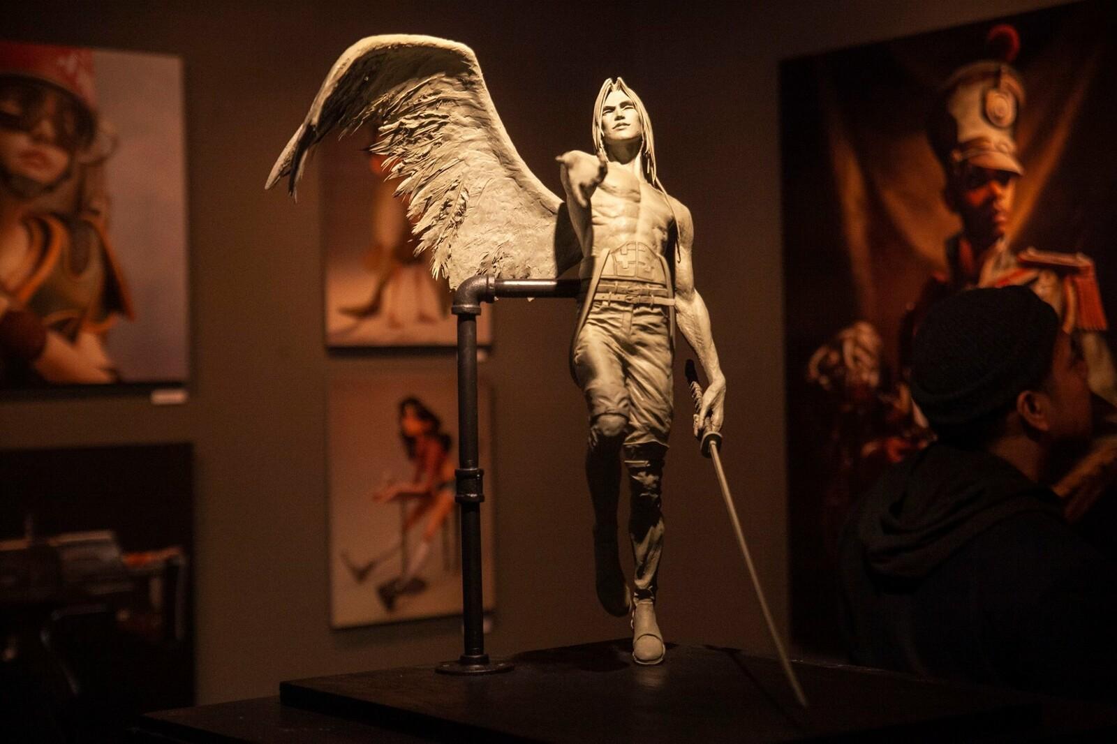 Sephiroth Sculpture
