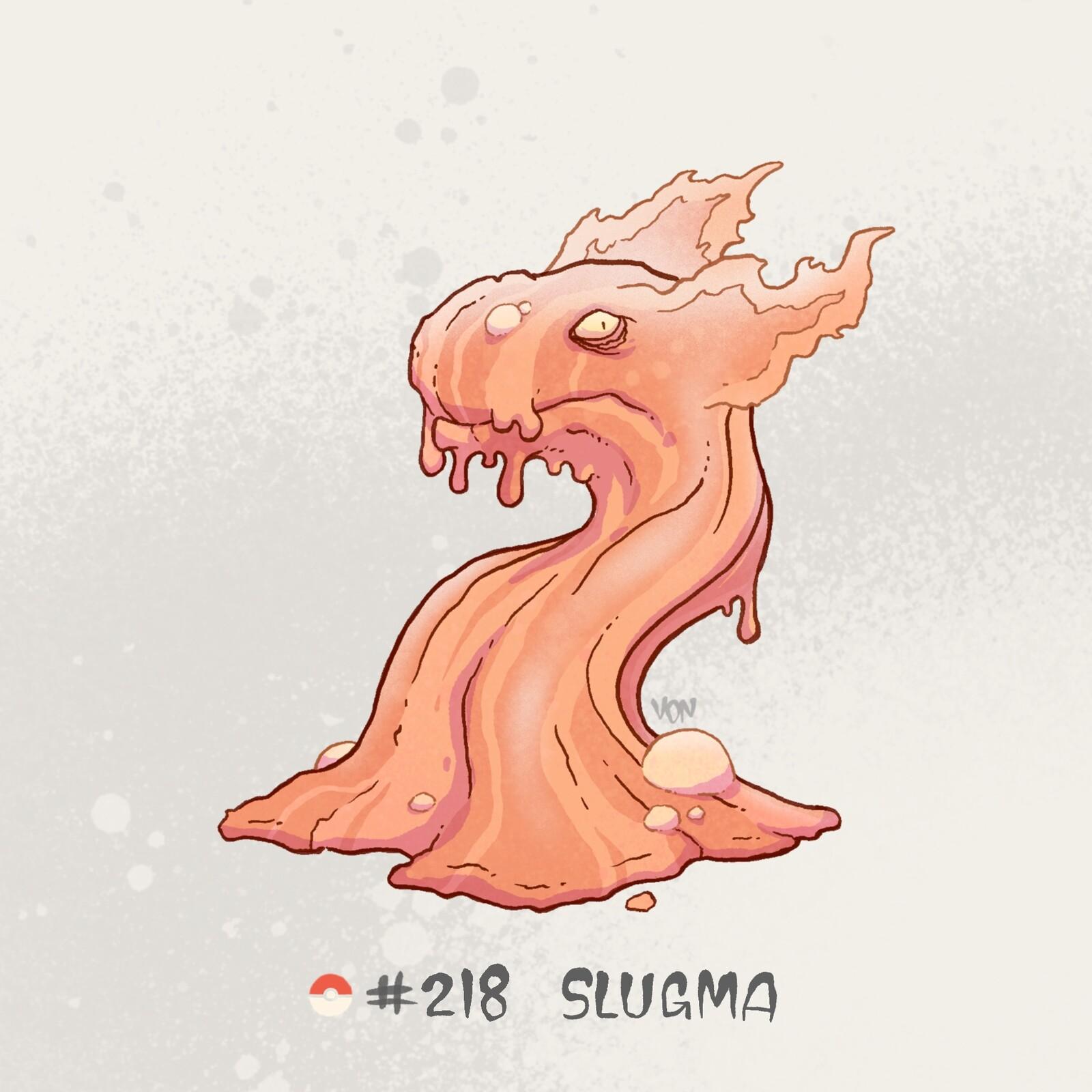 #218 Slugma