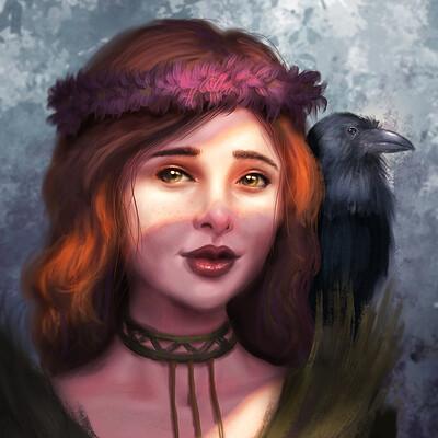 Markus stadlober witch crow med 01