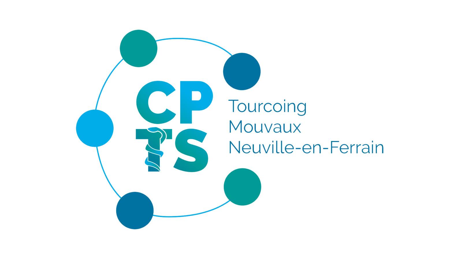 LOGO  / CPTS TOURCOING MOUVAUX NEUVILLE-EN-FERRAIN