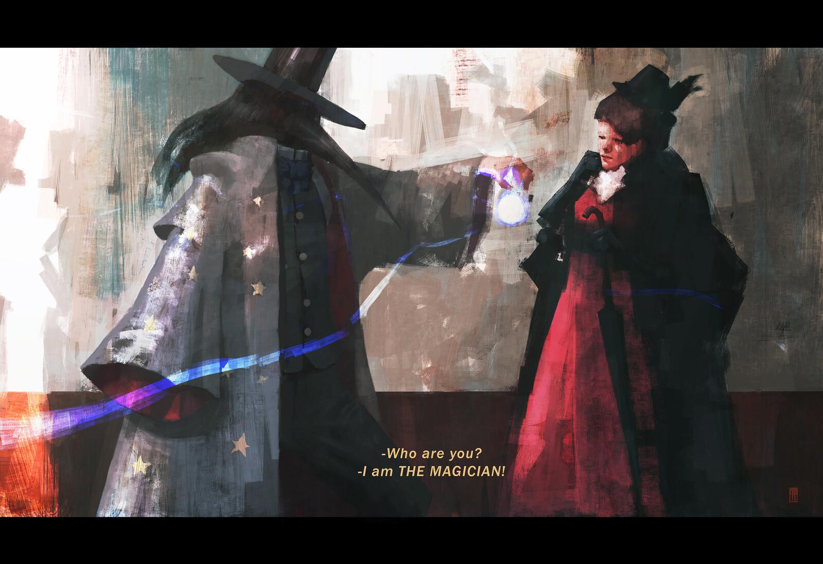 I am THE MAGICIAN!