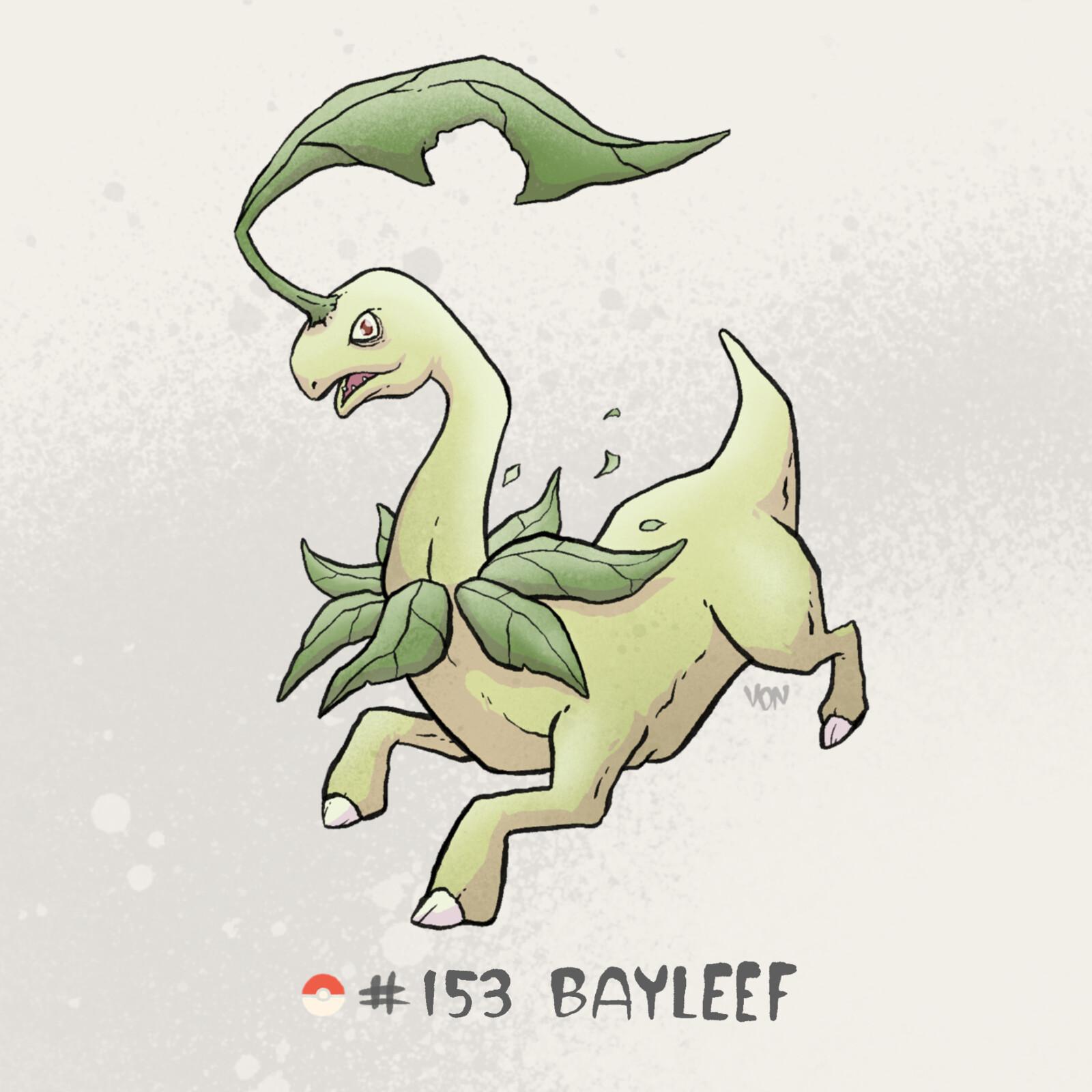 #153 Bayleef