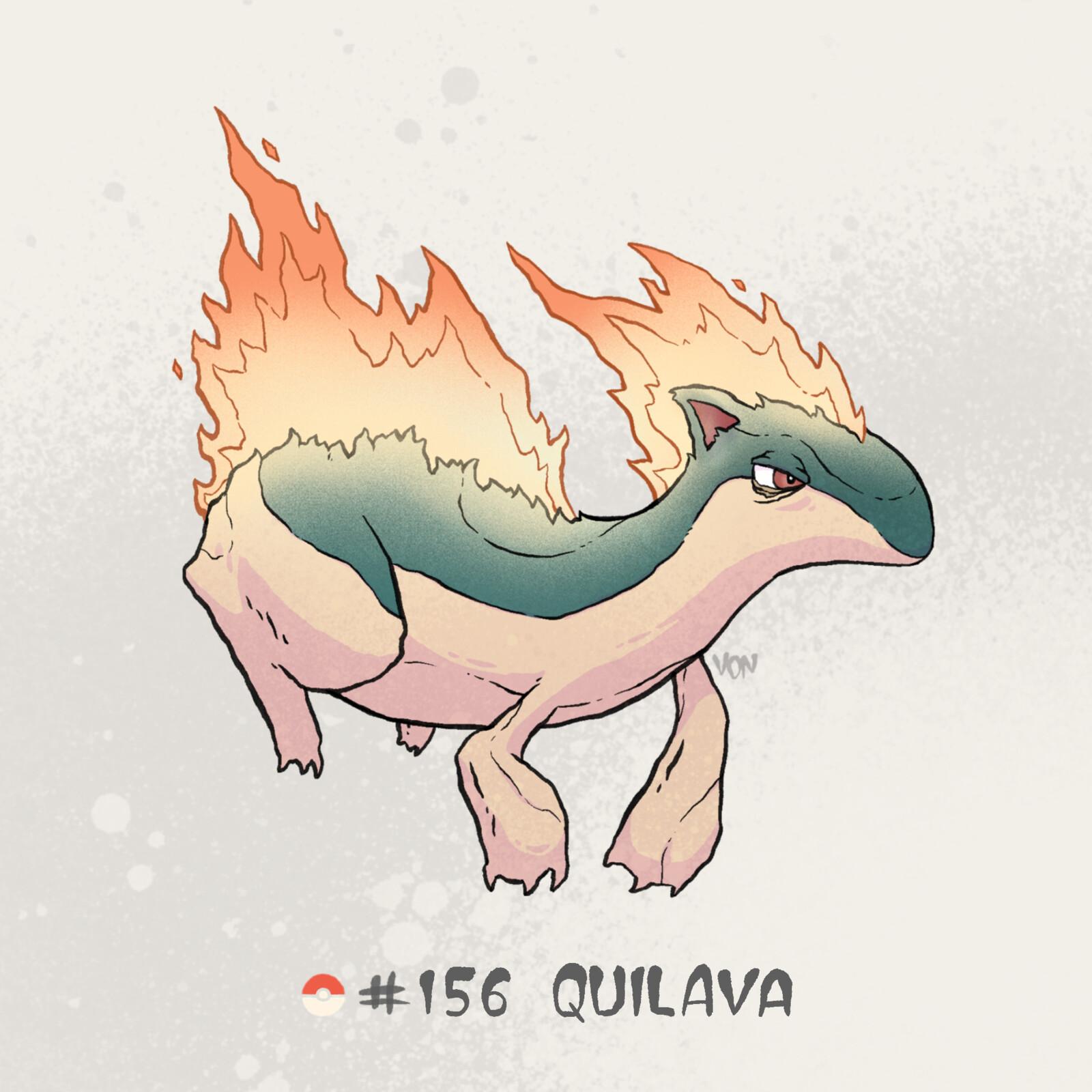 #156 Quilava