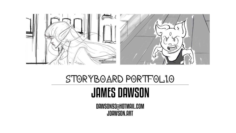 Storyboard Portfolio 2020