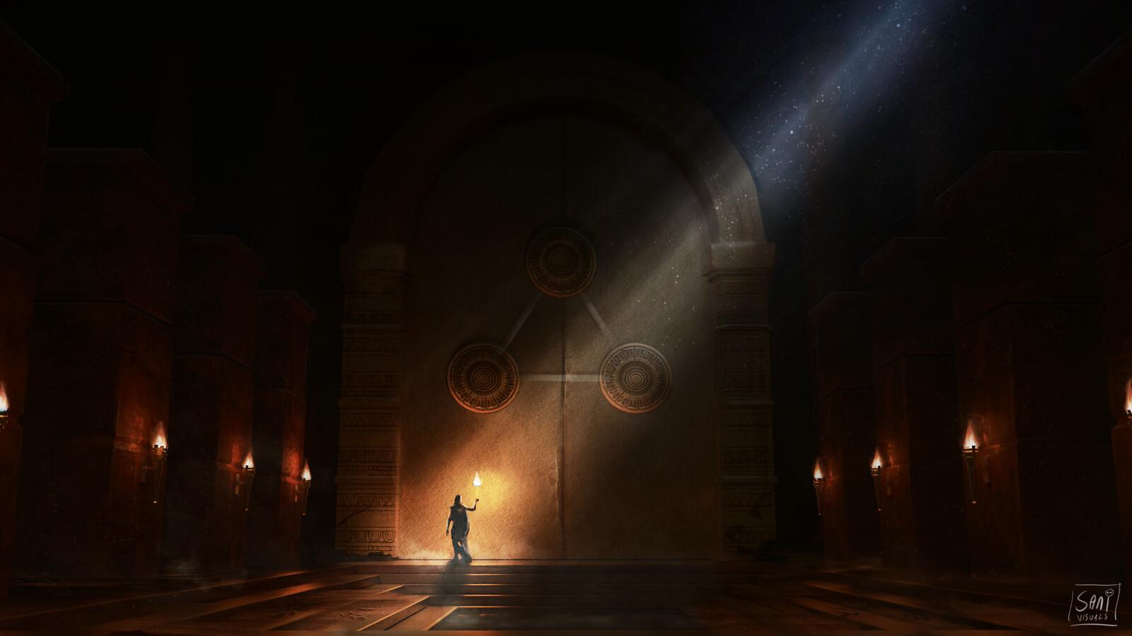 Danium Temple - Concept piece