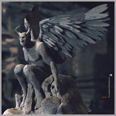 Surajit sen angel3 0 digital sculpture surajitsen june2020s