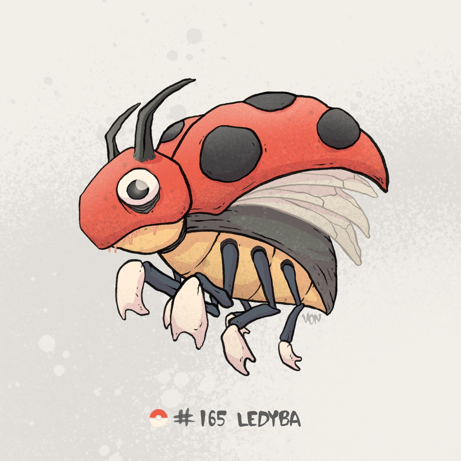 #165 Ledyba