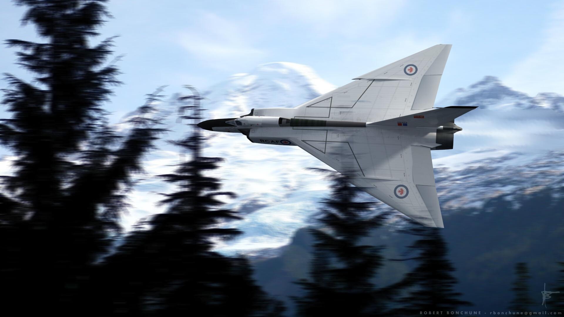 Robert Bonchune - Avro CF-105 Arrow