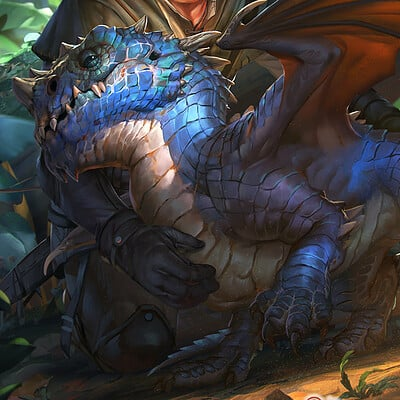 Rudy siswanto rudy siswanto dragon wrymling color2