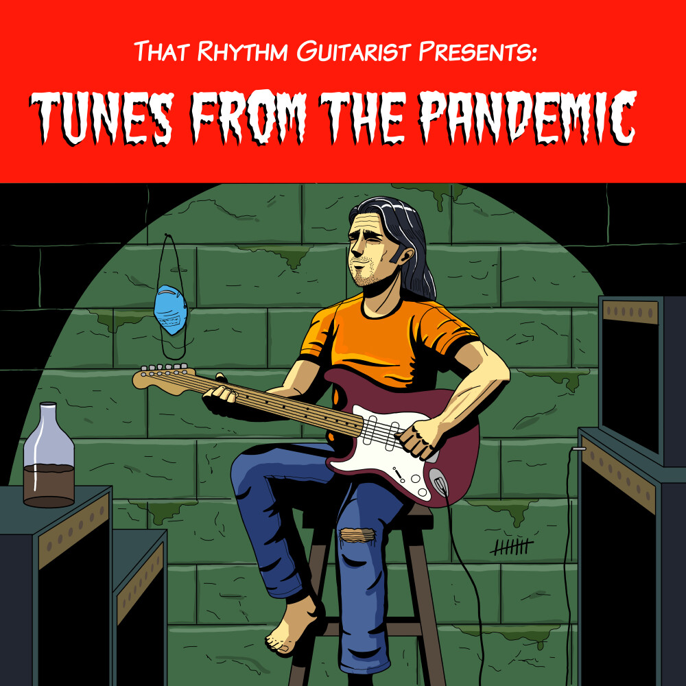 Single cover Illustration for Tunes From The Pandemic