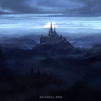 Nele diel dark hills