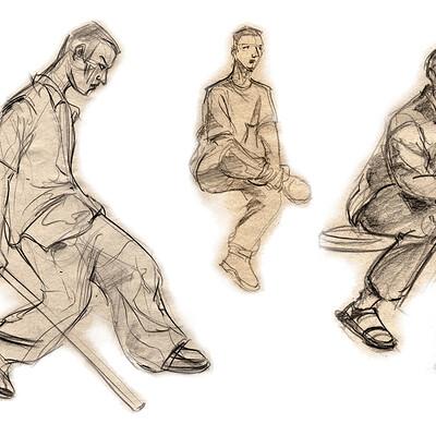 Ou li man sketch01