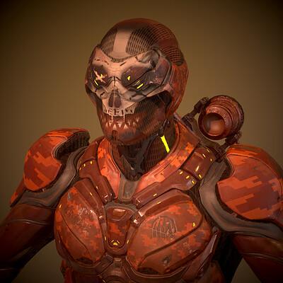 Mars Trooper (Futuregames Texturing)