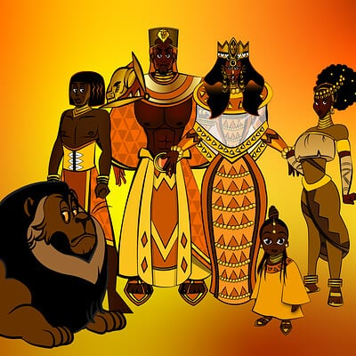 Larry springfield african royalty