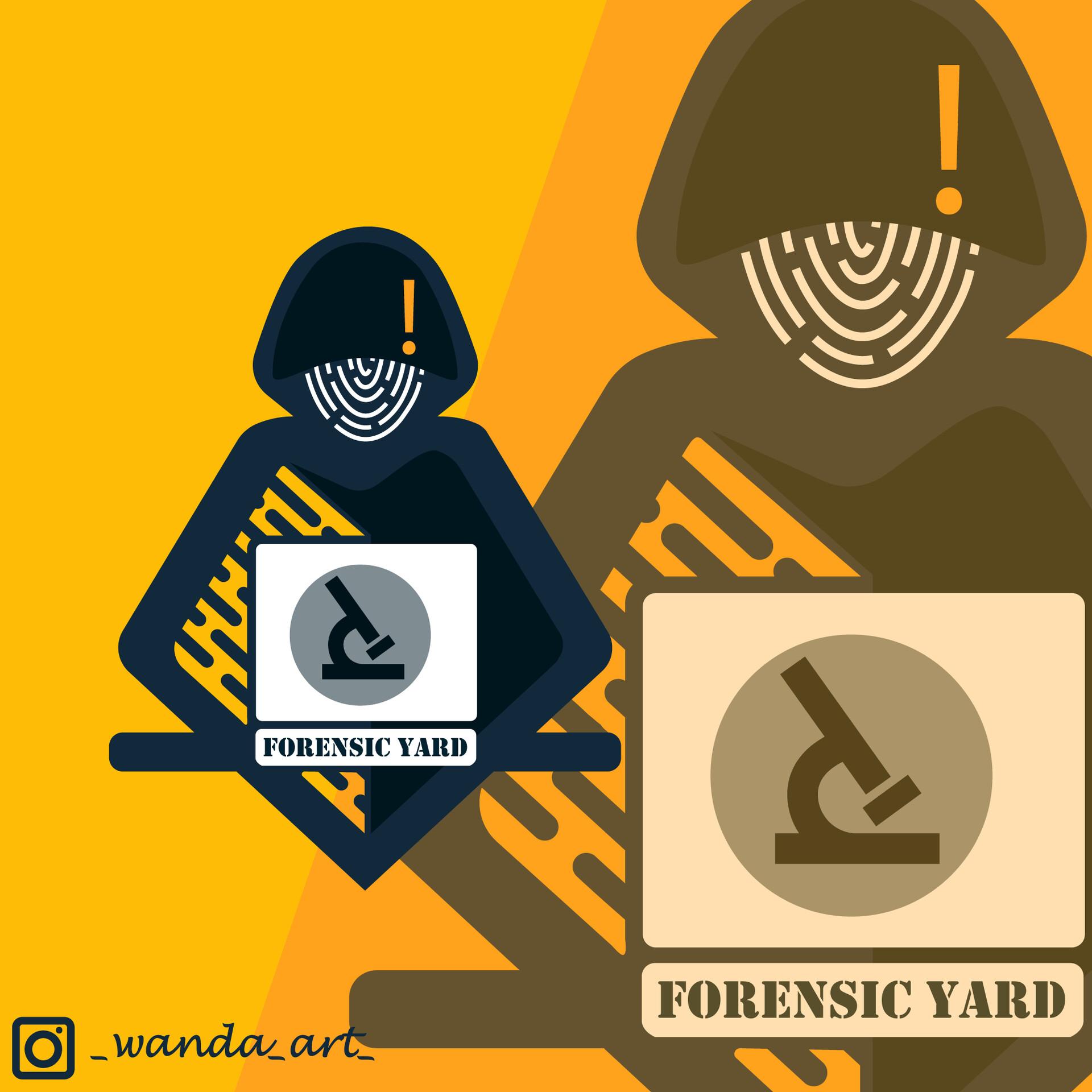 Artstation Forensic Yard Logo Supriyo Karmakar