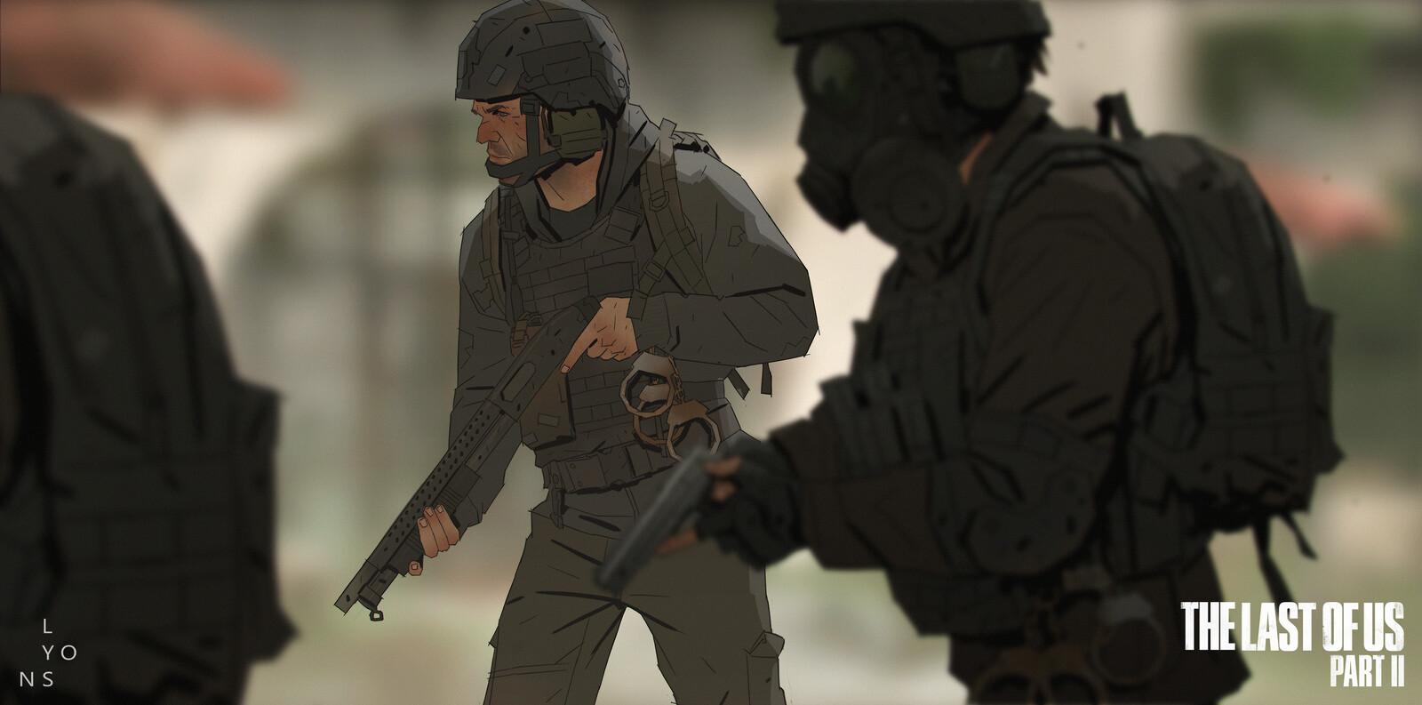 The Last Of Us Part 2 - NPC exploration