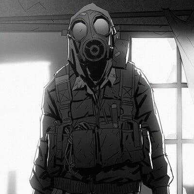 Richard lyons gasmask hunter 02